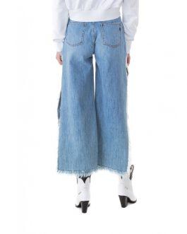 Jeans Con Spacco Gaelle Paris
