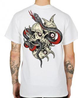 T-Shirt  White Skateful