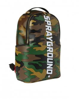Zaino Bodyguard Camo Backpack Brown