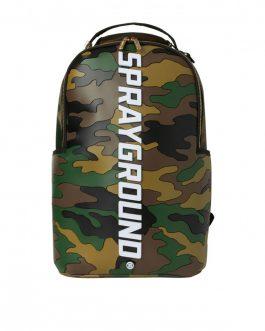 Zaino Bodyguard Camo Backpack Brown