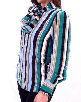 Camicia in Crepe Rigato Actitude