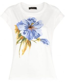 T-Shirt in Jersey Stampata Actitude