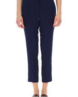 Pantalone in Cady Ever Satin Blu Twin Set