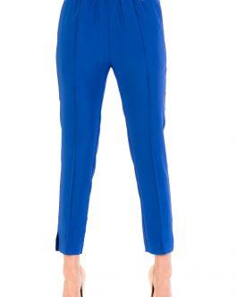 Pantalone in Tripla Georgette Bluette Twin Set