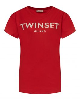 T-Shirt Rosso Twin Set