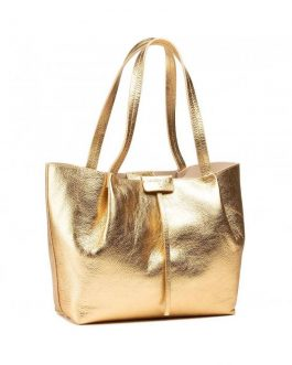 Shopping Bag Oro Patrizia Pepe