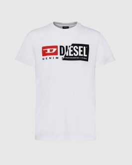 T-Shirt T-DIEGO-CUTY Bianco Diesel