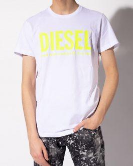 T-Shirt T-DIEGO-LOGO Bianco Diesel