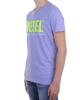 T-Shirt T-DIEGO-LOGO Glicine Diesel