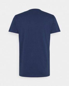 T-Shirt T-DIEGO-LOGO Blu Diesel