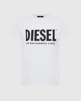 T-Shirt T-SILY-WX Bianco Diesel