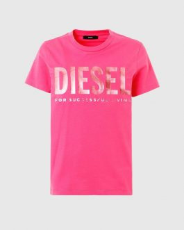 T-Shirt T-SILY-WX Rosa Diesel