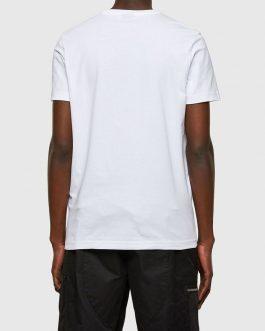 T-Shirt T-DIEGOS-SMALLOGO Bianco Diesel