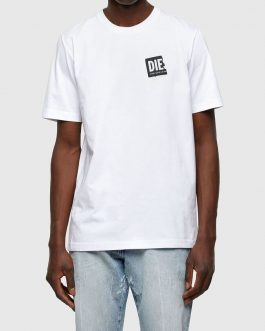 T-Shirt T-JUST-LAB Bianco Diesel