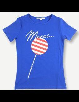 T-Shirt Lolipop Bluette Patrizia Pepe Kids