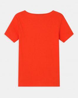 T-Shirt Comme si Comme Rosso Patrizia Pepe Kids
