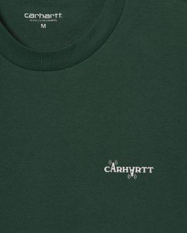 T-Shirt Calibrate Verde Carhartt