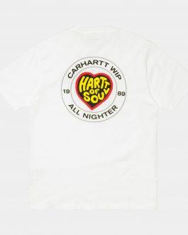 T-Shirt Hartt Of Soul Bianco Carhartt