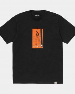 T-Shirt Interception Nero Carhartt