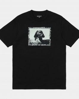 T-Shirt Sphinx Nero Carhartt
