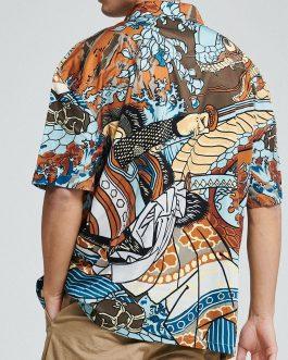Camicia Kuniyoshi Multicolor Dolly Noire