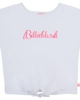 T-Shirt Nodo Bianco BillieBlush
