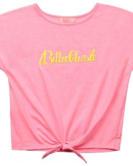 T-Shirt Nodo Rosa BillieBlush
