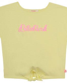 T-Shirt Nodo Giallo BillieBlush