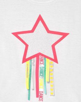 T-Shirt Stella Bianco BillieBlush