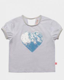 T-Shirt Bianco Billie Blush