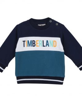 Felpa Blu/Bianco Timberland