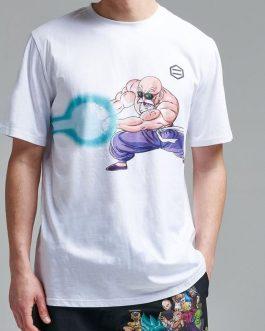 T-Shirt Genio delle Tartarughe Bianco Dolly Noire