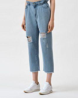Jeans Girlfriend in Denim Actitude