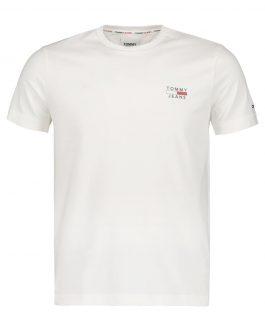 T-Shirt Basic Logo Bianco Tommy Jeans