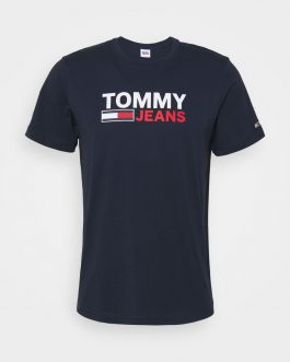 T-Shirt Logo Blu Tommy Jeans
