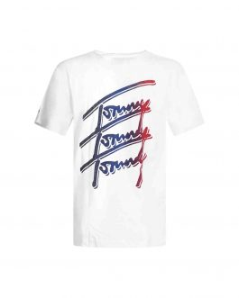 T-Shirt Repeat Blu Tommy Jeans