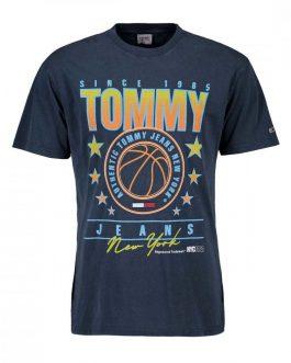 T-Shirt Photoprint Navy Tommy Jeans