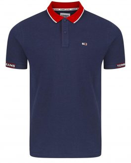 Polo Detail Rib Navy Tommy Jeans
