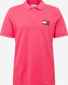 Polo Tommy Badge Fuxia Tommy Jeans