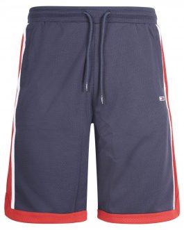 Bermuda Mesh Basketball Blu Tommy Jeans