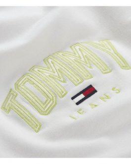 Felpa Lightweight Bianco Tommy Jeans