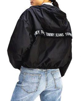 Giubbotto Yoke Tape Rib Nero Tommy Jeans