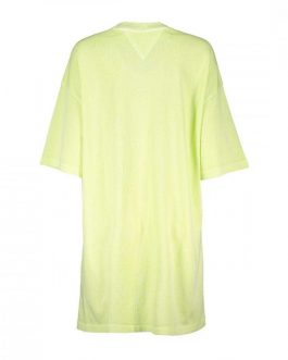 Abito Oversized Badge Giallo Tommy Jeans