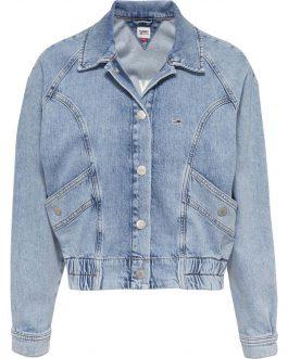Giacca Cargo Crop Denim Tommy Jeans