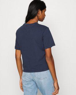 T-Shirt BXY Crop Tape Blu Tommy Jeans