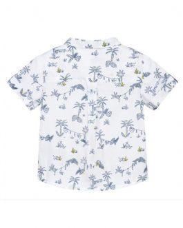 Camicia Fantasia Bianco Carrement Beau