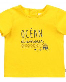T-Shirt Giallo Carrement Beau
