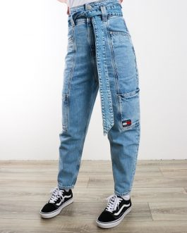 Jeans New Paperbag Mom Denim Tommy Jeans