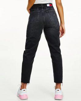 Jeans Mom Jean Ultra HR Denim Grigio Tommy Jeans