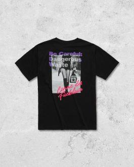 T-Shirt Jersey Nero Comme Des Fuckdown